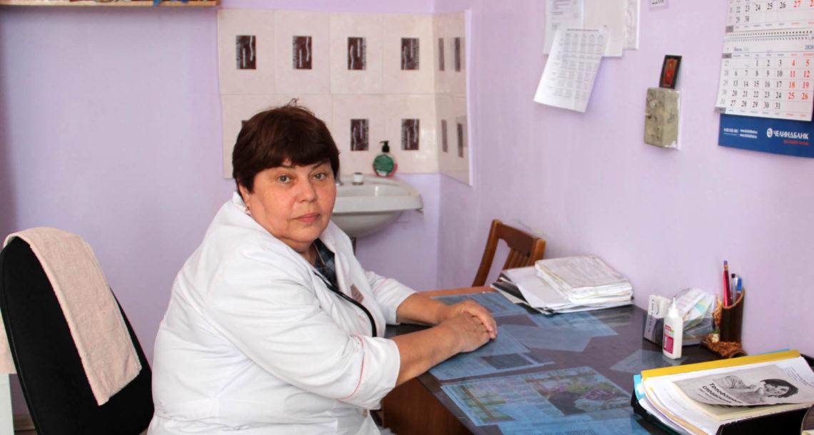 Н.Б. Смирнова, терапевт из Нязепетровска