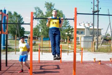 Новая площадка для сдачи ГТО в Нязепетровске