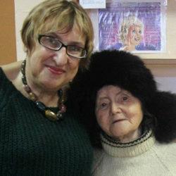 М. В. Волкова и М. Абдулганеева в Нязепетровске