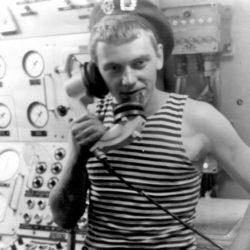 А.В. Смирнов, моряк из Нязепетровска
