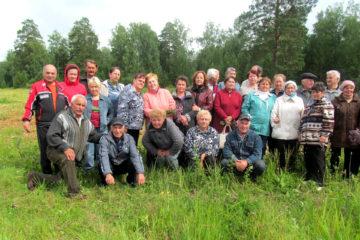 Встреча жителей п. Табуска Нязепетровского района