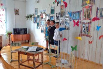 Библиотека в д.Бехтерева Нязепетровского района