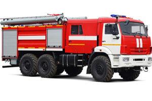 Пригнана автоцистерна для пожарной дружины