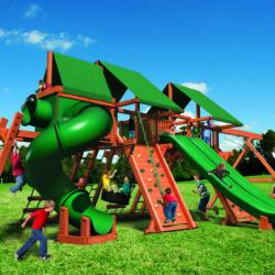 Игровая площадка в посёлке Арасланово