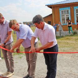 Новая спортплощадка в Нязепетровске
