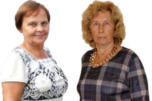 Л.П. Власова и Л.П. Рябова из Нязепетровского района