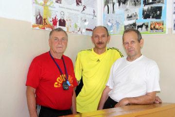 Стена памяти спортсменам в Нязепетровске