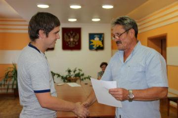 П.В. Плеханов, один из участников избирательной кампании в Нязепетровском районе