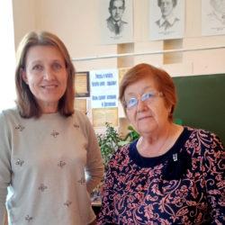 М.И. Склярова и А.М. Светлакова из с. Ункурда