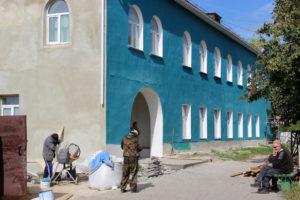 Ремонт поликлиники в Нязепетровске