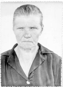 Степанида Михайловна Мотыль (Авдейчик)