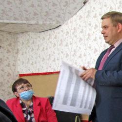 С.А. Кравцов на встрече с ветеранами