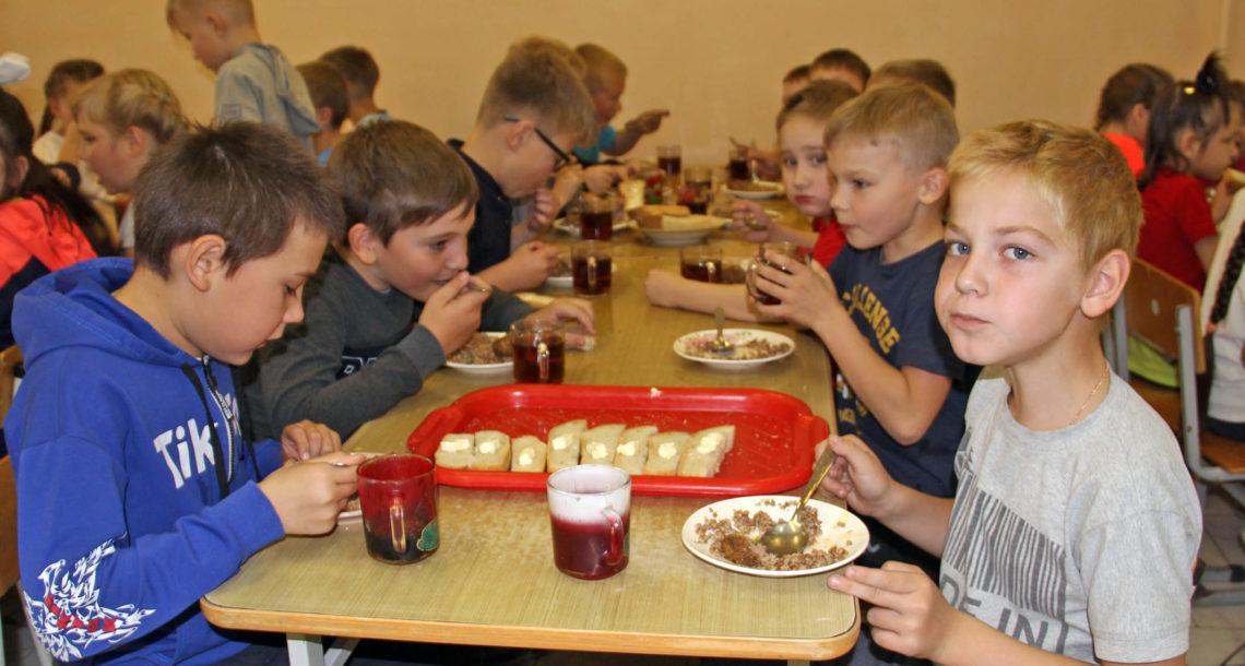 Школьный обед в СОШ№1 г. Нязепетровска