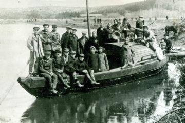 Архивное фото жителей Нязепетровска 1929 года