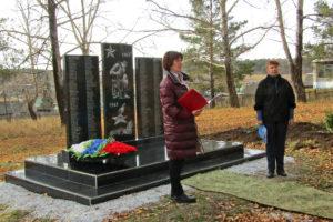 Памятник в д. Ситцева