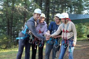 Туристический слет педагогов в Нязепетровске