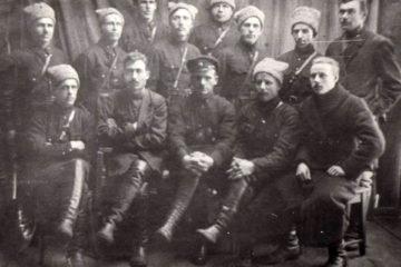 Районный отдел милиции в Нязепетровском районе, фото 1928 года.