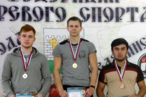 Спортсмены из Нязепетровска