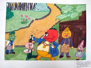 Рисунки юных художников из Нязепетровска