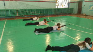 Соревнования среди полицейских в Нязепетровске