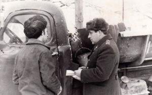 Инспектор В. А. Горшенин из Нязепетровска
