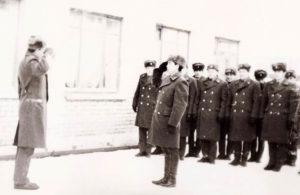 Милиционеры 80-х годов ХХ века в Нязепетровске