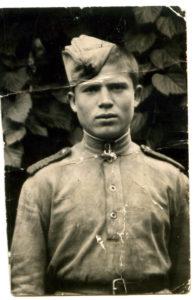 И.Е. Субботин из Нязепетровска на фронте
