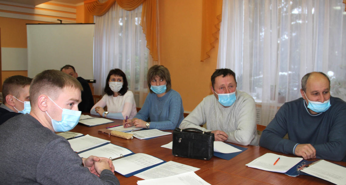 Заседание собрания депутатов Нязепетровского района