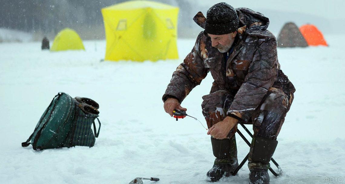 Рыбаки в Нязепетровске