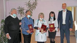 Награждение медицинских работников в Нязепетровске