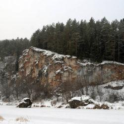Скала «Лось» в Нязепетровском районе