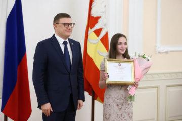 А. Юданова и А. Текслер