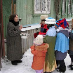 Колядки в Нязепетровском районе