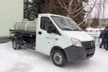 Новая машина – водовоз в Нязепетровске