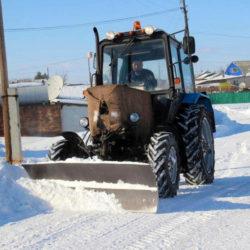 Уборка снега в Нязепетровском районе