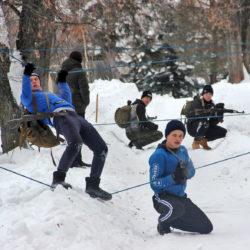 Команда СОШ №27 на «Гонке патрулей» в Нязепетровске