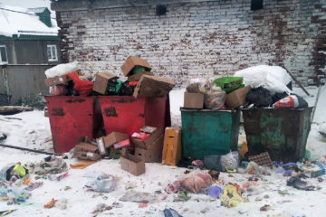 Горы мусора возмутили жителей Нязепетровска