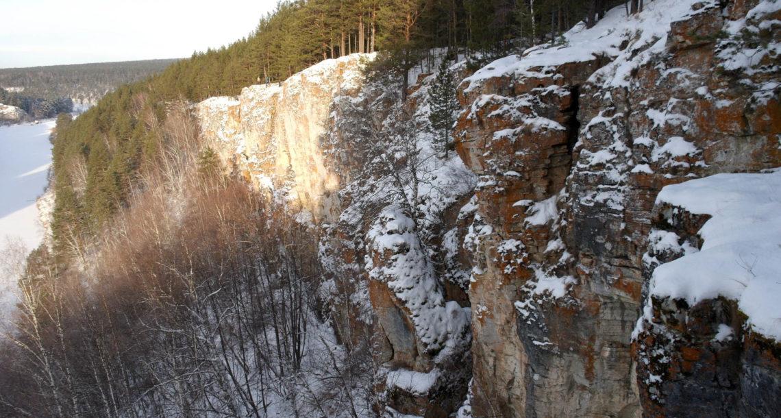 Скалы Яман-Таш в Нязепетровском районе