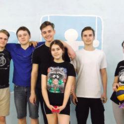 Спортивная встреча выпускников и старшеклассников СОШ№2 г. Нязепетровска