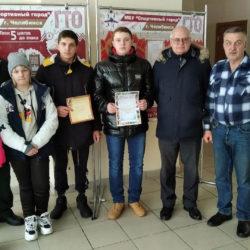 Юнармейцы из Нязепетровска на соревнованиях