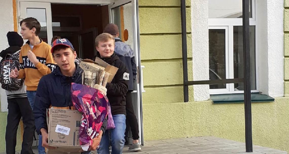 Ученики СОШ №1 г. Нязепетровска участвуют в экологической акции