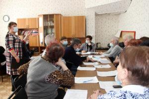 Л.В. Сельницина рассказала о работе детских школьных организаций