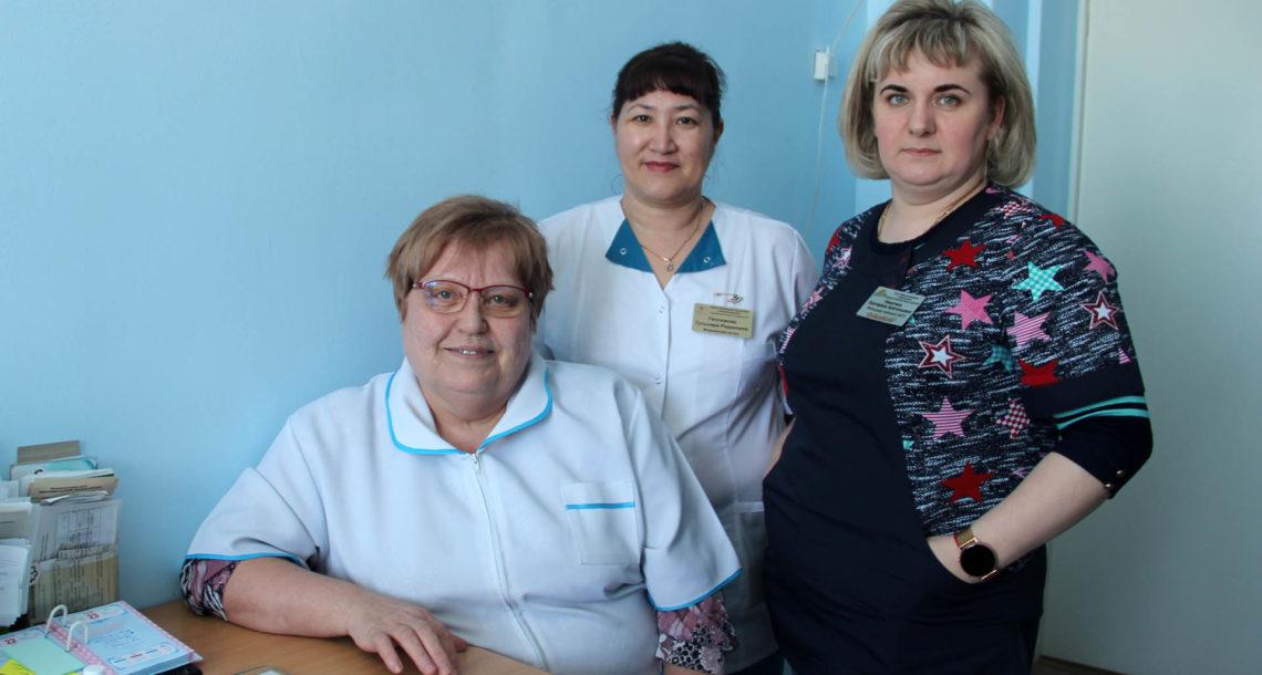 Коллектив районной больницы Нязепетровска
