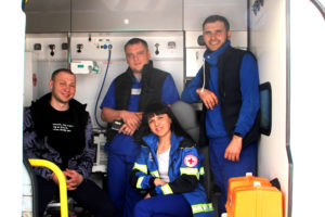Сотрудники скорой помощи Нязепетровска