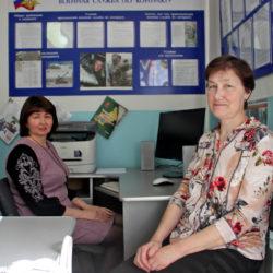 Инспекторы военно-учётного стола г. Нязепетровска