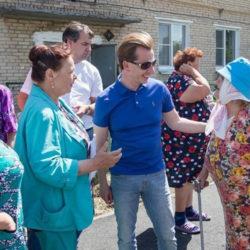 В. Бурматов в Нязепетровском районе