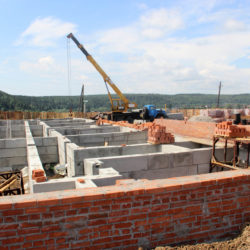 В Нязепетровске готов фундамент для нового дома