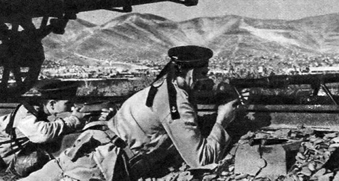 Большая часть бойцов морской бригады погибла