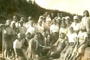 Многое в годы войны делалось женскими руками