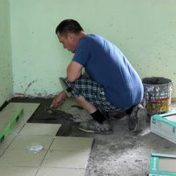 Ремонт в детском саду в Нязепетровске